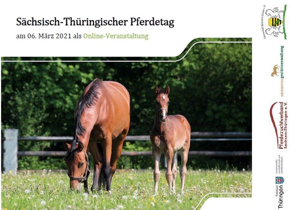 Sächsisch-Thüringischer Pferdetag am 6. März als Onlineveranstaltung