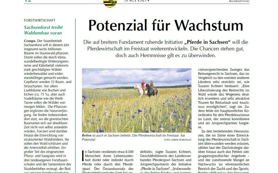 """""""Potenzial für Wachstum"""" – Bauernzeitung berichtet über die Initiative"""